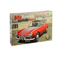 Italeri 3653 - 1:24 ALFA ROMEO GIULIETTA SPIDER 1300