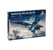 Italeri 1379 - 1:72 SUKHOI Su-34 (Su-32) FN