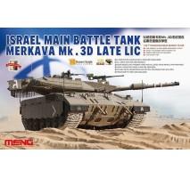 MENG TS-025 - 1:35 ISRAEL MAIN BATTLE TANK MERKAVA Mk.3D LATE LIC