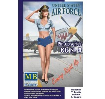 Masterbox 24005 - 1:24 Pin-up series, Kit No. 5. Patty  - 1 figure