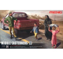 MENG HS-001 - 1:35 Middle Easterners in The Street - 3 figures