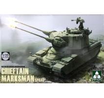 TAKOM 2039 - 1:35 British Air-defense Weapon System Chieftain Marksman SPAAG
