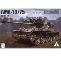TAKOM 2038 - 1:35 French Light Tank AMX-13/75 with SS-11 ATGM 2 in 1
