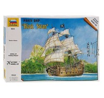 "Zvezda 6514 - 1:350 Pirate ship ""Black Swan"""