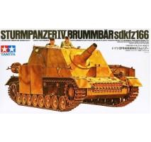 TAMIYA 35077 - 1:35 German Sturmpanzer IV - 2 figures