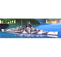 TAMIYA 78015 - 1:350 German Battleship Tirpitz