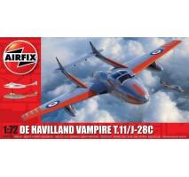 Airfix 02058A - 1:72 deHavilland Vampire T.11 / J- 28C
