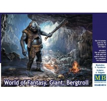 Masterbox 24014 - 1:24 World of Fantasy. Giant. Bergtroll - 1 figure
