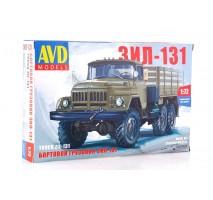 AVD 1297 - 1:72 ZIL-131 Flatbed Truck