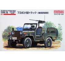 FINE MOLDS FM35 - 1:35 JGSDF Type 73 Light Truck with MG