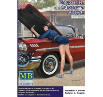 Masterbox 24016 - 1:24 Pin-up series. A short stop. Kit No. 2 - 1 figure