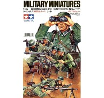 TAMIYA 35038 - 1:35 German Machine Gun Troops - 7 figures