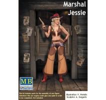 Masterbox 24018 - 1:24 Marshal Jessie - 1 figure