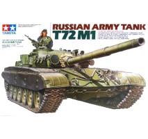 TAMIYA 35160 - 1:35 Russian Army Tank T72M1 - 1 figure