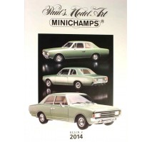 Minichamps - PMA CATALOGUE - 2014 - RESIN EDITION #2