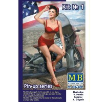 Masterbox 24001 - 1:24 Pin-up series, Kit No. 1. Marylin - 1 figure