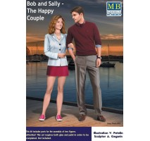 Masterbox 24029 - 1:24 Bob and Sally - The Happy Couple