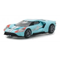 GreenLight 13200-B - 2017 Ford GT 1966 #1 Ford GT40 Mk II Tribute Solid Pack - Ford GT Racing Heritage Series 1