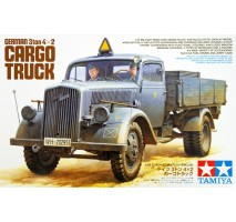 TAMIYA 35291 - 1:35 German 3ton 4x2 Cargo Truck - 2 figures