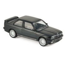 NOREV - BMW M3 E30  1986 - Black - JET CAR