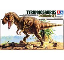 TAMIYA 60102 - 1:35 Tyrannosaurus Diorama