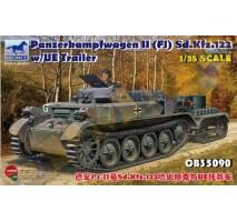 Bronco Models CB35090 - 1:35 PzKpfw. II(FI) Sd.Kfz.122 w/UE Trailer