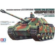 TAMIYA 35203 - 1:35 German Tank Destroyer Jagdpanther Late Version - 1 figure