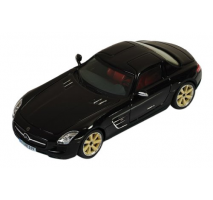 IXO MOC118 - Mercedes-Benz SLS AMG 2011Lorinser RSK8 Wheels Black