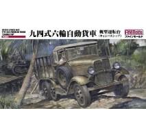 "FINE MOLDS FM31 - 1:35 IJA Type94 6 Wheeled Truck ""Canvas Top"""