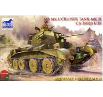 Bronco Models CB35025 - 1:35 A13 Mk.I /Cruiser Tank Mk. III