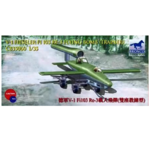 Bronco Models CB35060 - 1:35 German V-1 Fi103 Re-3 Piloted Flying Bomb(Two Seats Trainer)