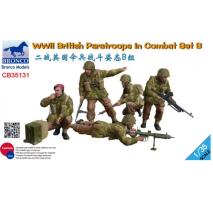 Bronco Models CB35131 - 1:35 WWII British Paratroops In Combat Set B