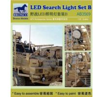 Bronco Models AB3569 - 1:35 LED Search Light Set B
