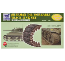Bronco Models AB3538 - 1:35 Sherman T48 Workable Track Link Set