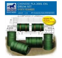 Bronco Models AB3519 - 1:35 Chinese PLA 200L Oil Drum set
