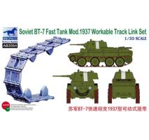 Bronco Models AB3564 - 1:35 Soviet BT-7 Fast Tank Mod.1937 Workable Track Link Set