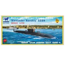 Bronco Models NB5023 - 1:350 Russian 'Borei' Class K-550 'Alexander Nevskiy' SSBN