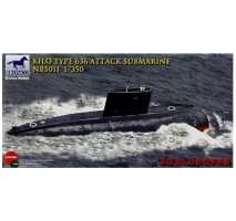 Bronco Models NB5011 - 1:350 Kilo Type 636 Attack Submarine