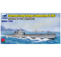 Bronco Models NB5010 - 1:350 German Long Range Submarine Type U-IXC