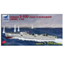 Bronco Models NB5004 - 1:350 German S-100 Class Schnellboot (Not available in Japan Market