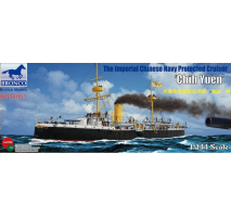Bronco Models KB14001 - 1:144 The Imperial Chinese Navy Protected Cruiser'Chih Yuen'