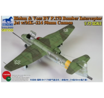 Bronco Models GB7002 - 1:72 Blohm & Voss BV P178 Bomber Interceptor Jet w/MK-214 50mm