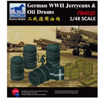 Bronco Models FB4020 - 1:48 WWII German Jerry Can & Fuel Drum