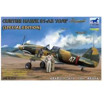 Bronco Models FB4009 - 1:48 Curtiss Hawk 81-A2 'AVG '(Special Edition)