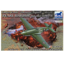 Bronco Models FB4008 - 1:48 Curtiss P-40C'Warhawk'Fighter (US Army Air Force)