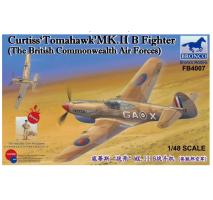 Bronco Models FB4007 - 1:48 Curtiss'Tomahawk'MK.II B Fighter (The British Commonwealth