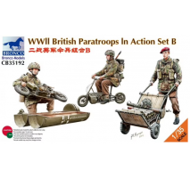 Bronco Models CB35192 - 1:35 WWII British Paratroops In Action Set B