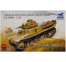 Bronco Models CB35001 - 1:35 French H39 Hotchkiss light tank