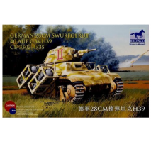 Bronco Models CB35002 - 1:35 German 28cm Swurfgerat 40 Auf G.W.H39