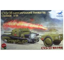 Bronco Models CB35008 - 1:35 CV L3/35 Lanciafiamme Tankette
